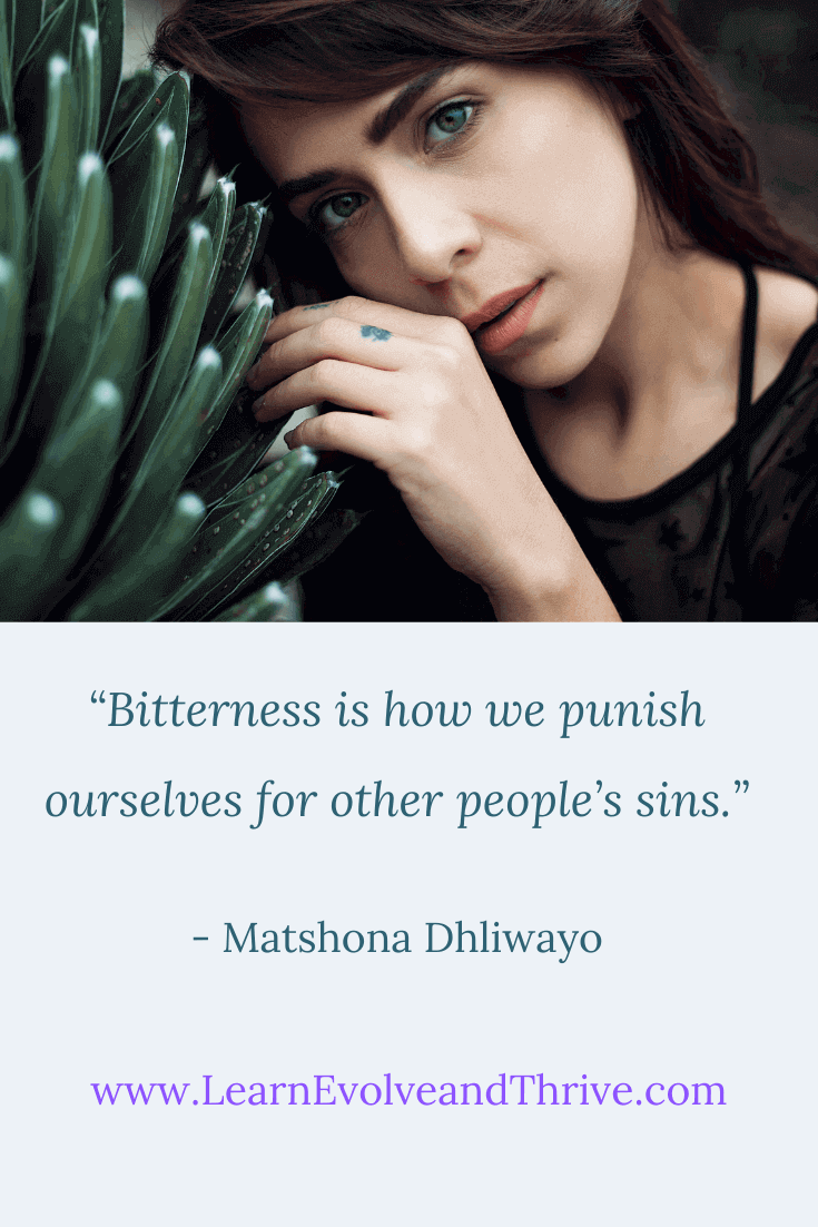 Bitterness is how we punish ourselves for other people sins Matshona Dhliwayo Quote