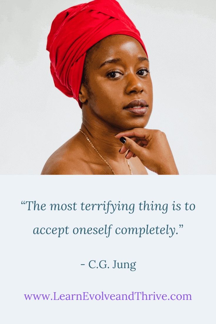 The most terrifying thing is to accept oneself completely Carl Jung Quote